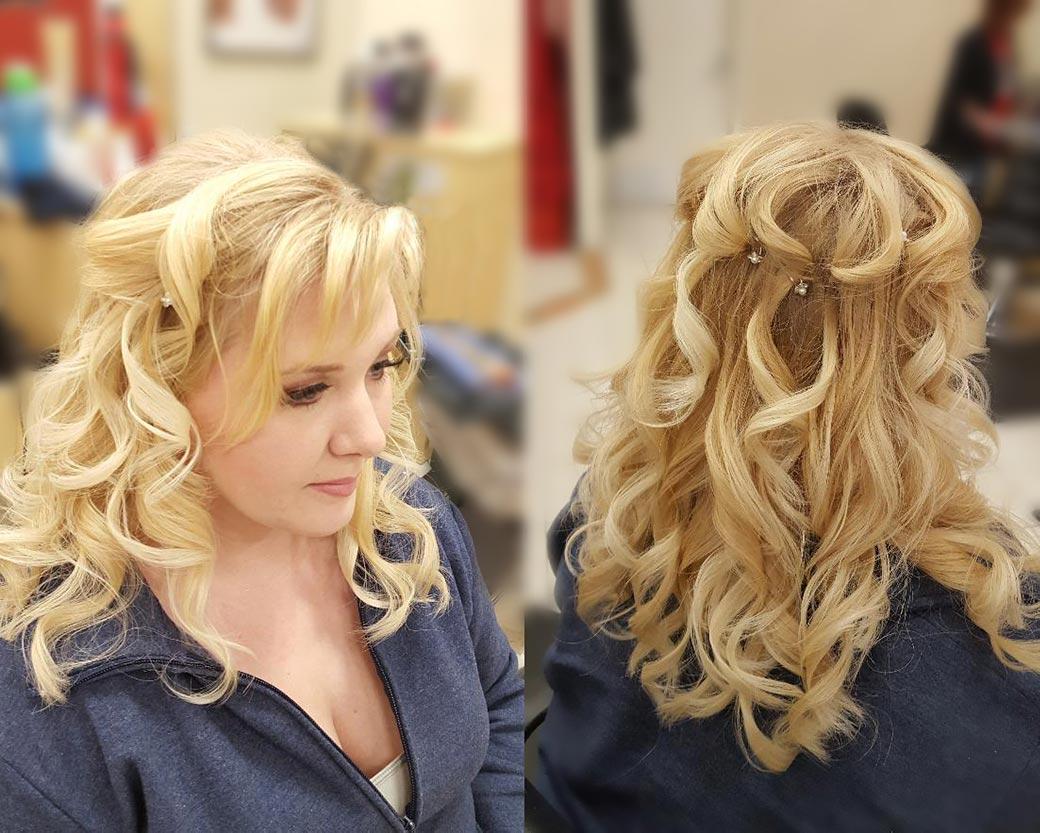Hair Styling by Tea Garrison at Design Ramon Hair Studio