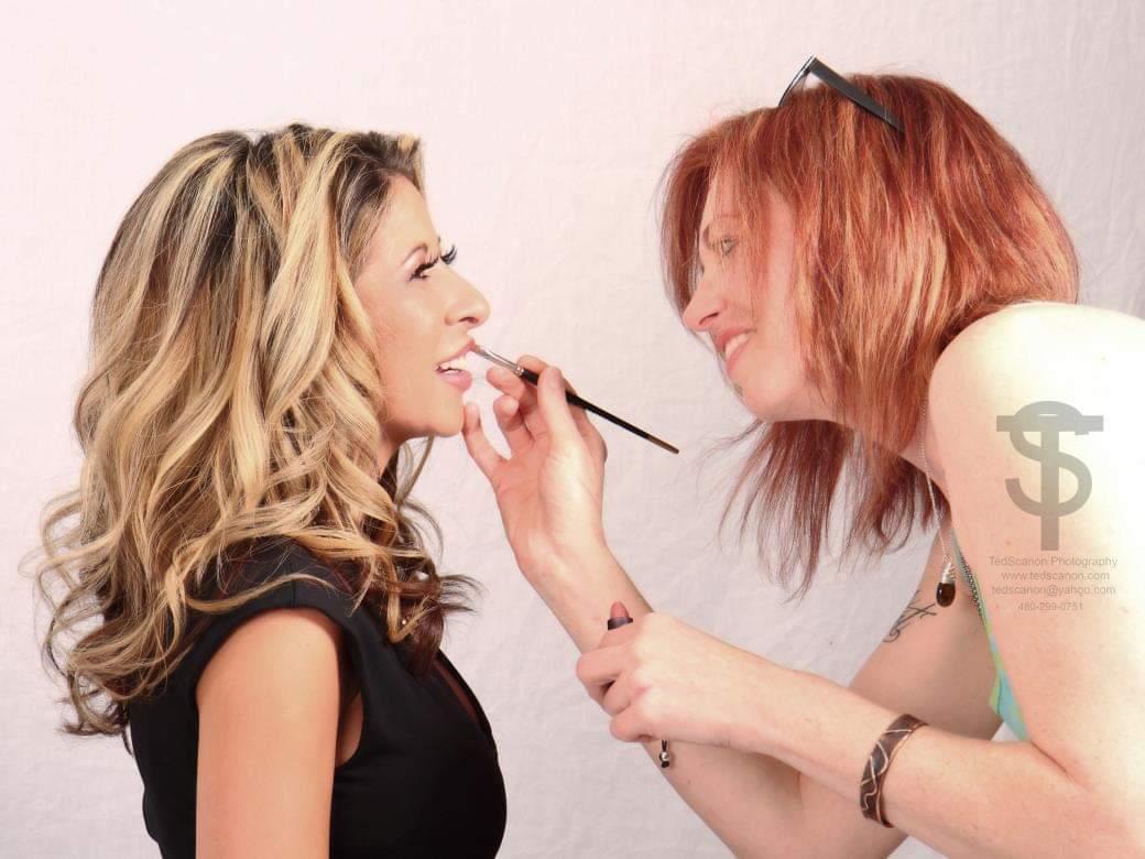 Makeup by Tea Garrison at Design Ramon Hair Studio in Ahwatukee | 480 763 5588