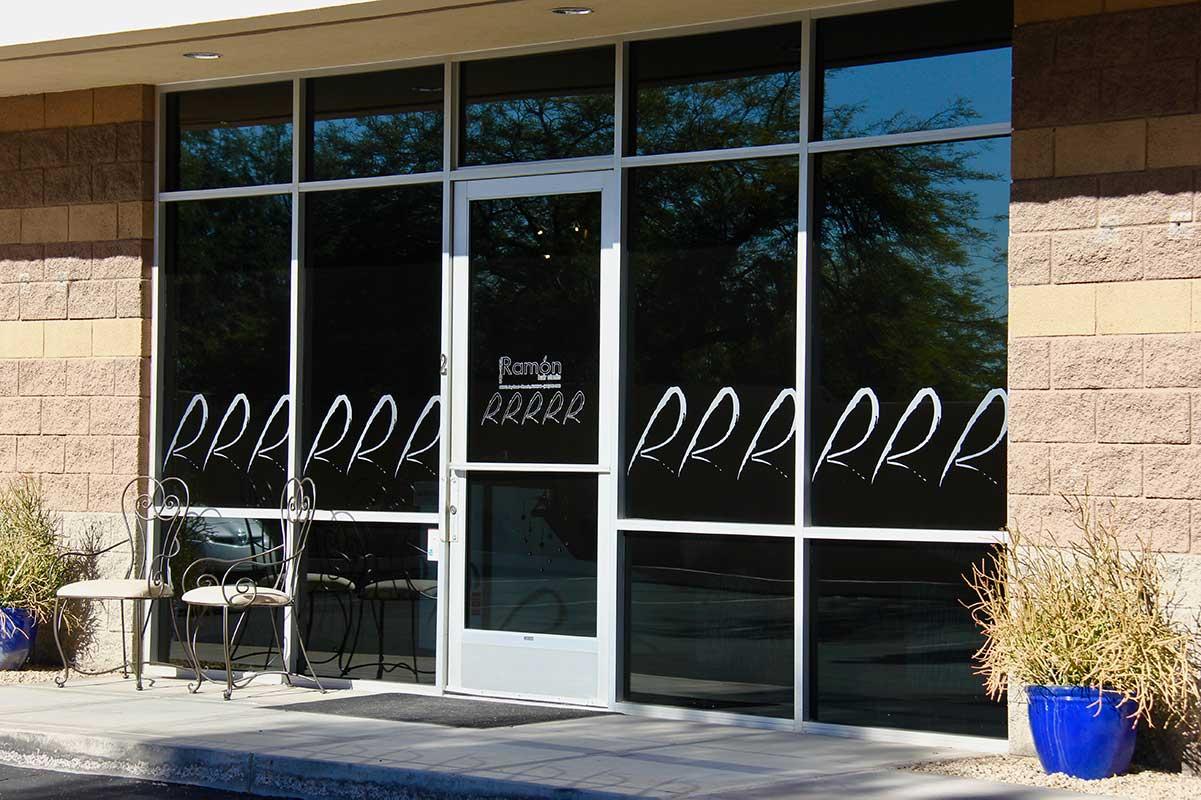 Entrance Design Ramon Hair Studio in Ahwatukee | 480 763 5588