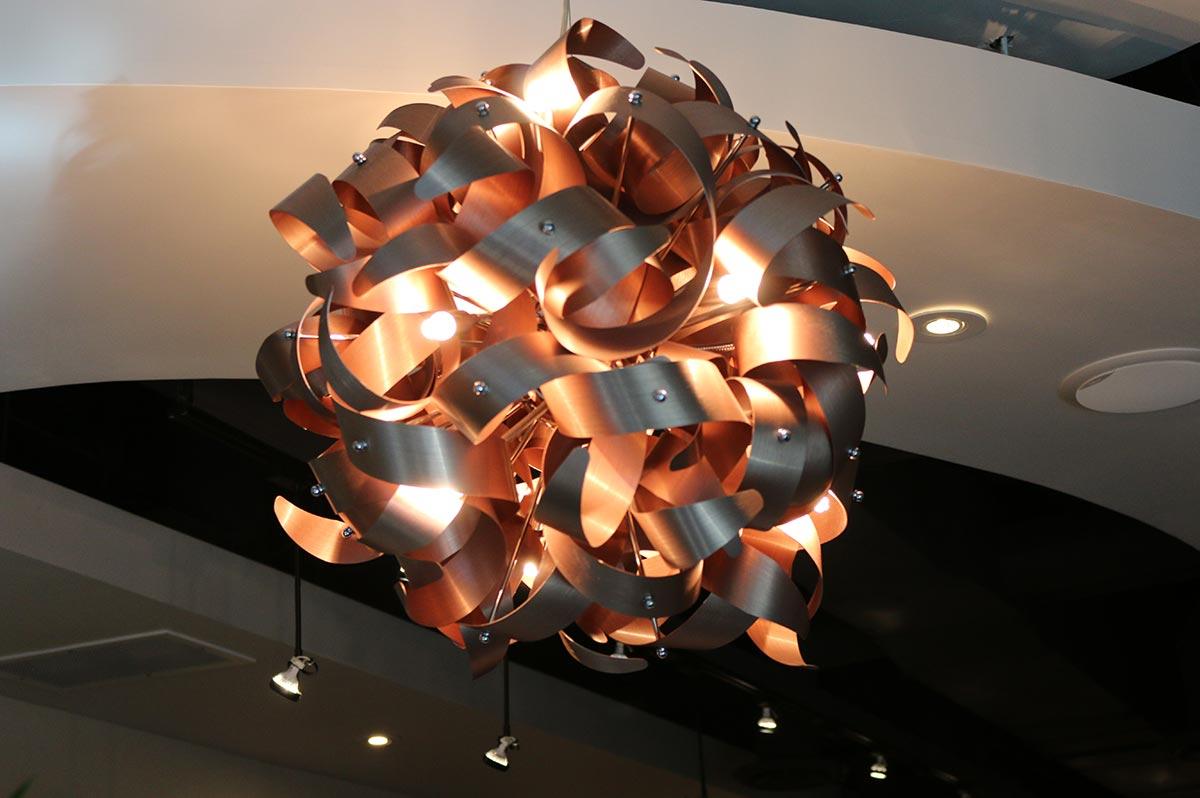 Designer Lamp at Design Ramon Hair Studio in Ahwatukee | 480 763 5588