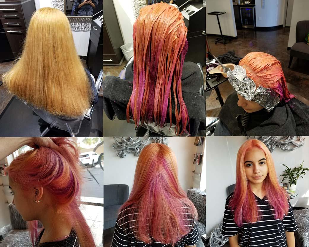 Transformation by Tea Garrison at Design Ramon Hair Studio